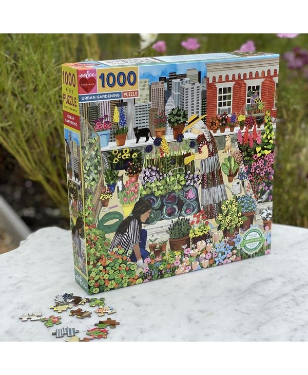 Urban Gardening 1000 pc Puzzle