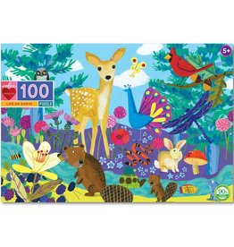 eeBoo Life on Earth 100pc puzzle
