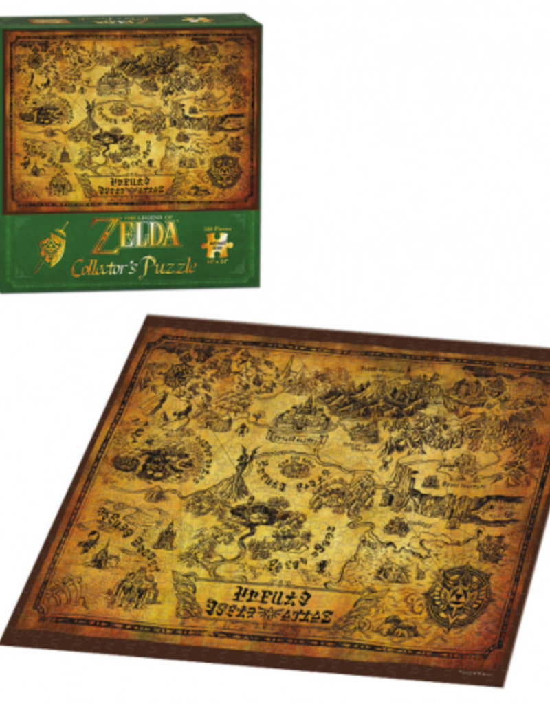 Legend of Zelda: Hyrule Map 550pc