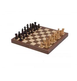 Chess Set - Walnut Finish