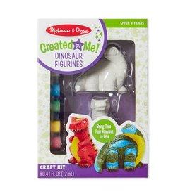 Melissa & Doug Created by Me! Dinosaur Figurines Craft Kit