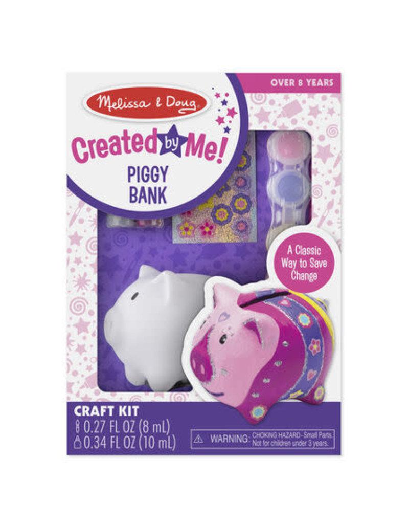 Melissa & Doug Created By Me Piggy Bank
