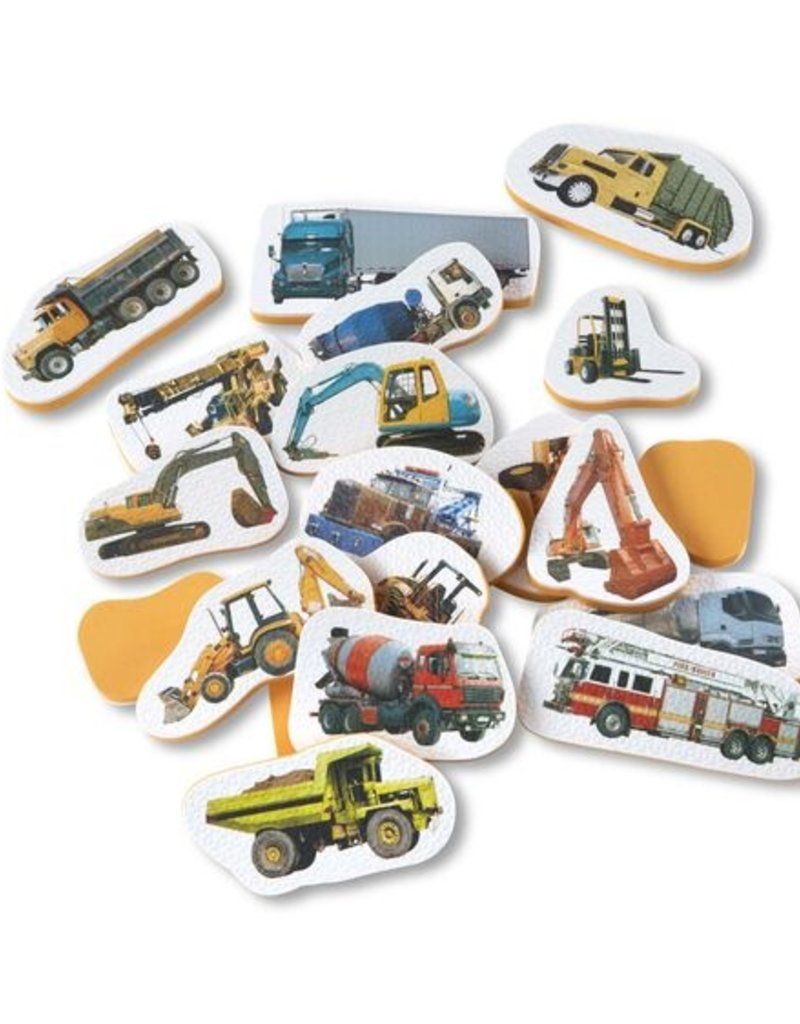Melissa & Doug Tub Stickables Trucks