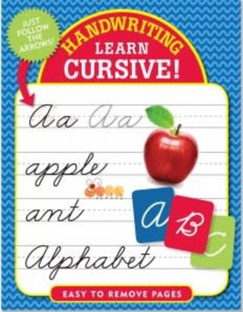 Peter Pauper Handwriting Learn Cursive