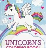 Peter Pauper Unicorns Colouring Book