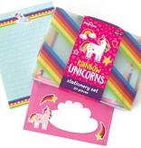Playhouse Rainbow Unicorn Stationery Set