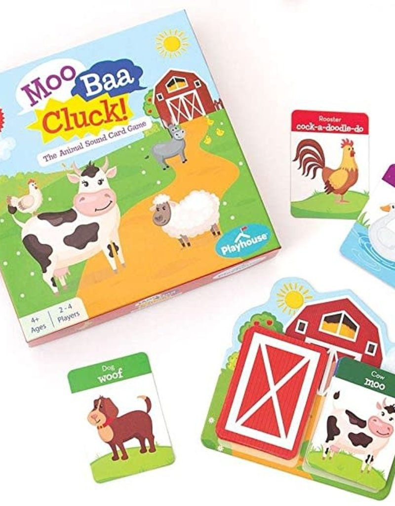Playhouse Farm Animal Sound Card Game - Snap