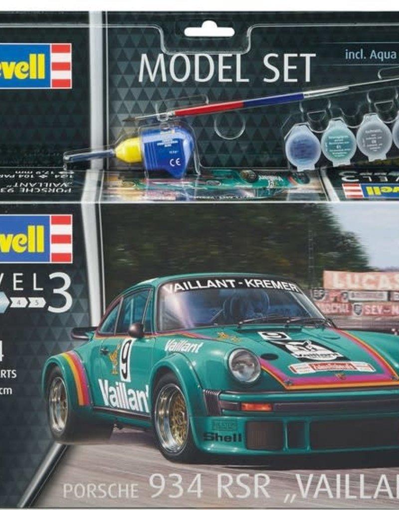 Revell Porsche 934 RSR Vaillant Model Set