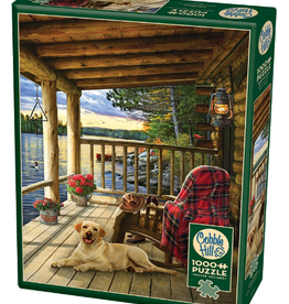 Cobble Hill Cabin Porch 1000 piece puzzle