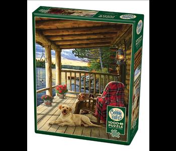 Cabin Porch 1000 piece puzzle
