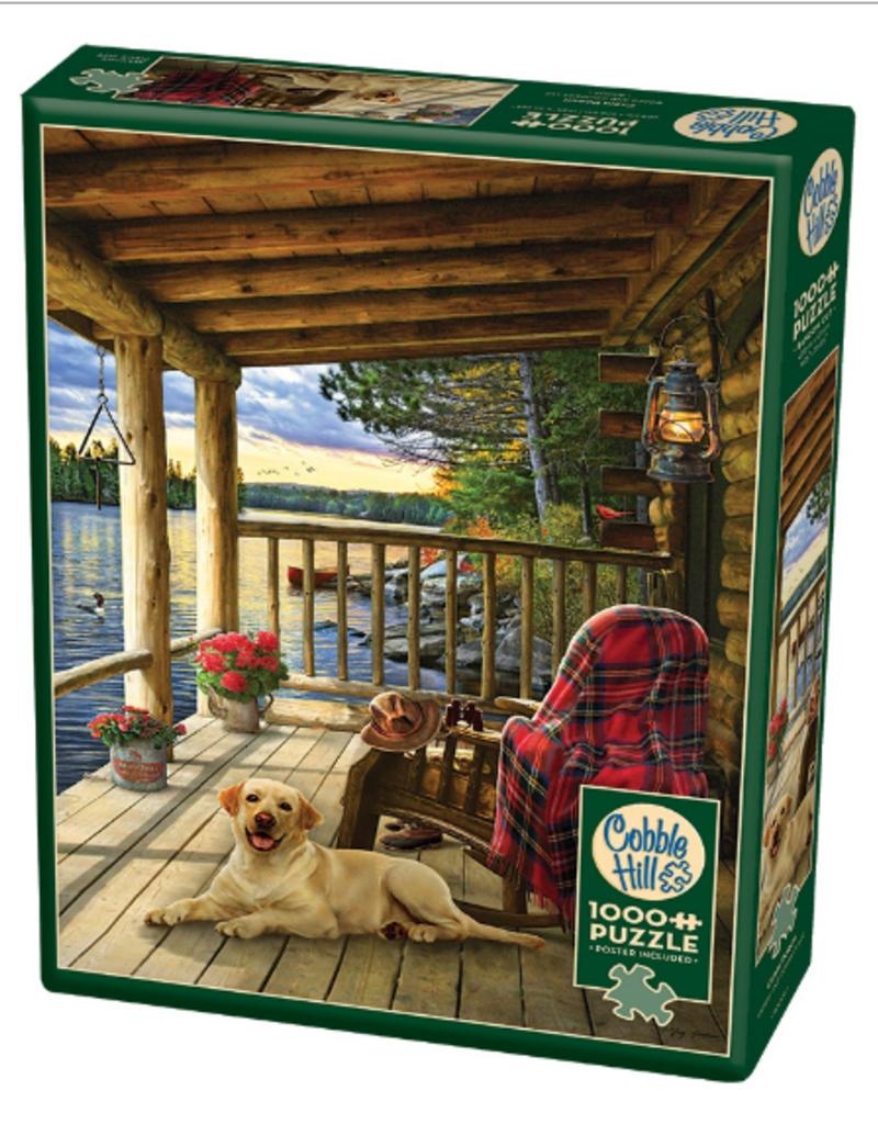 Cobble Hill Cabin Porch 1000 piece puzzle