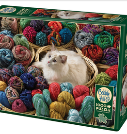 Cobble Hill Fur Ball 1000 piece puzzle