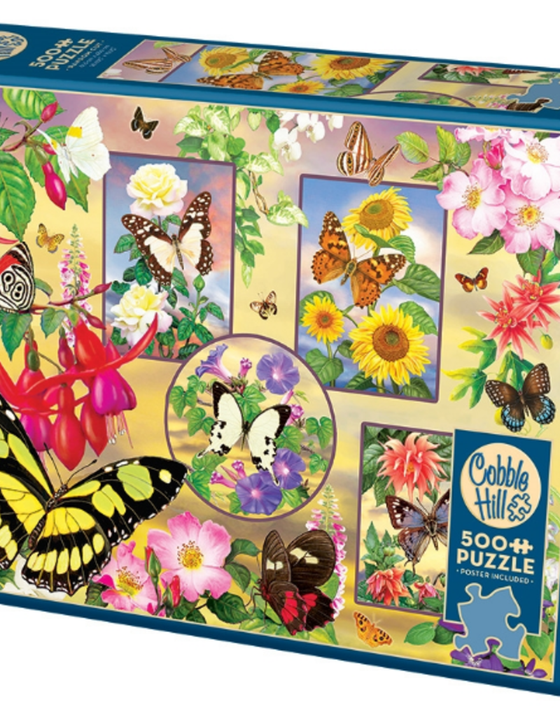 Cobble Hill Butterfly Magic 500 piece puzzle