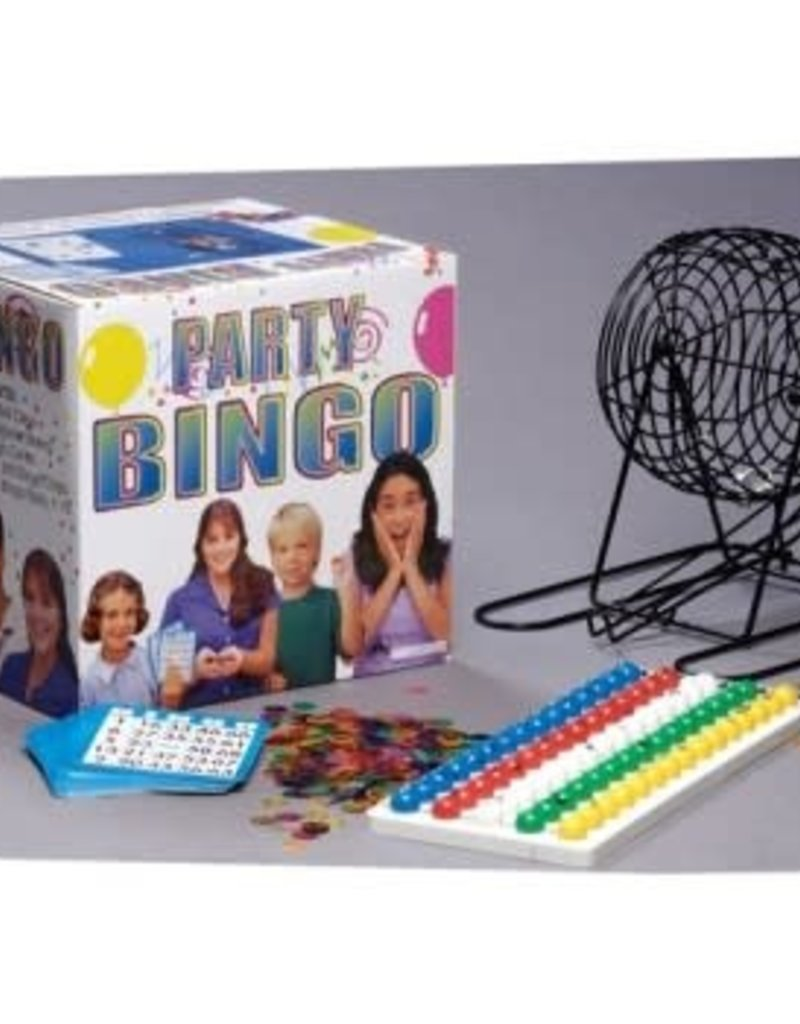 Popular Playthings Party Bingo