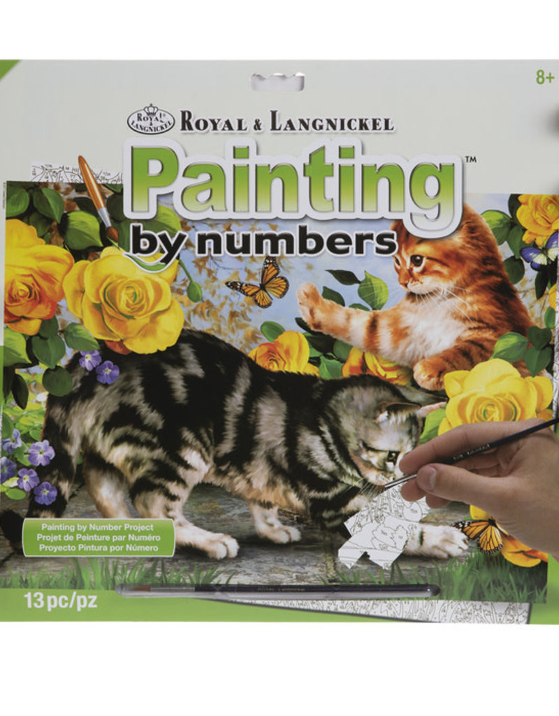 Kittens at Play Paint By Number