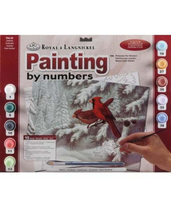 Cardinals Paint By Number