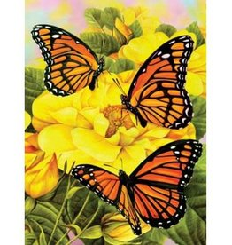 Majestic Monarchs Paint By Number