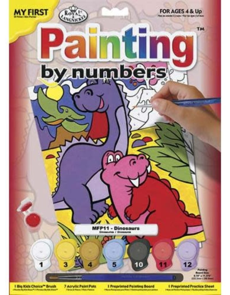Dinosaurs Paint By Number