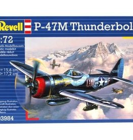 Revell Model Airplane P--47M Thunderbolt