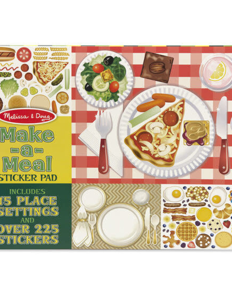 Melissa & Doug Make a Meal Sticker Pad