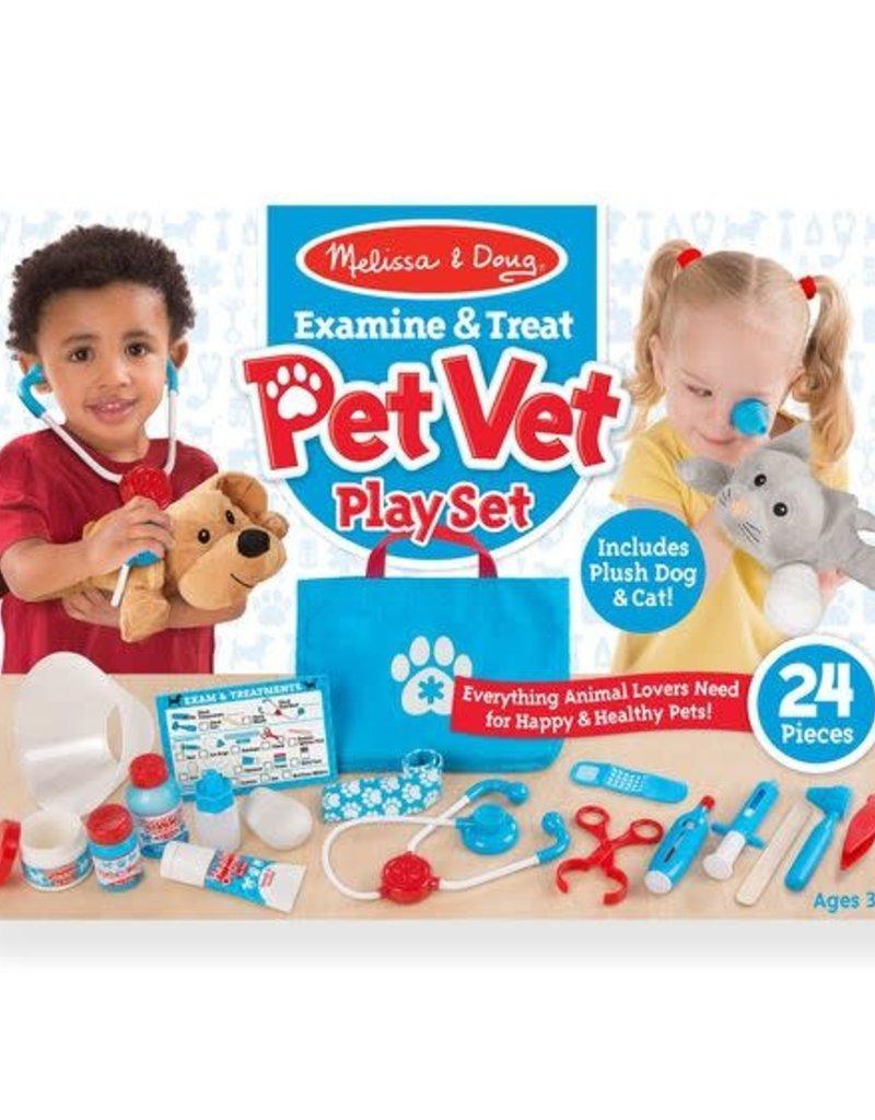 Melissa & Doug Pet Vet Paly Set Examine & Treat