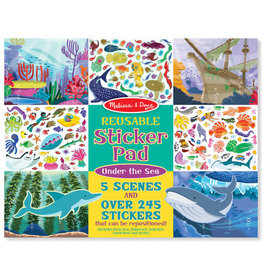 Melissa & Doug Reusable Sticker Pad Under The Sea