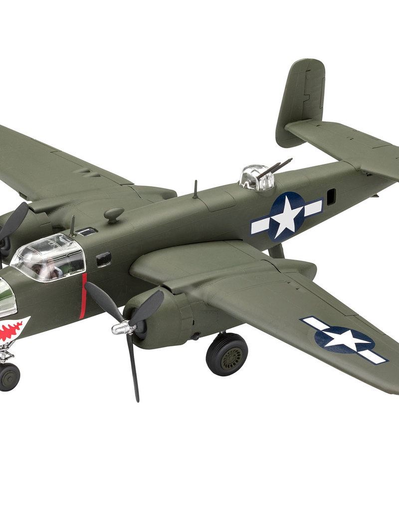 Revell B-25 Mitchell Easy Click Model Set