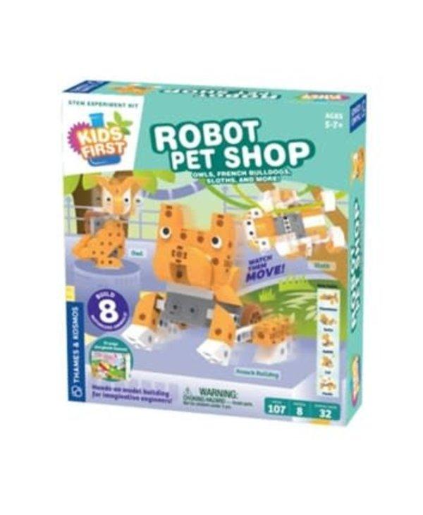 Kids First Robot Pet Shop, Owls, Hedgehogs, Sloths and more