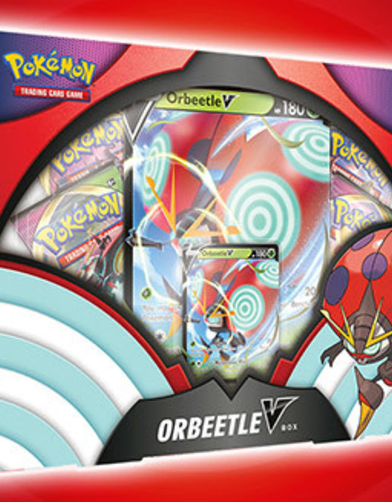 Pokemon Pokemon V Box Orbeetle