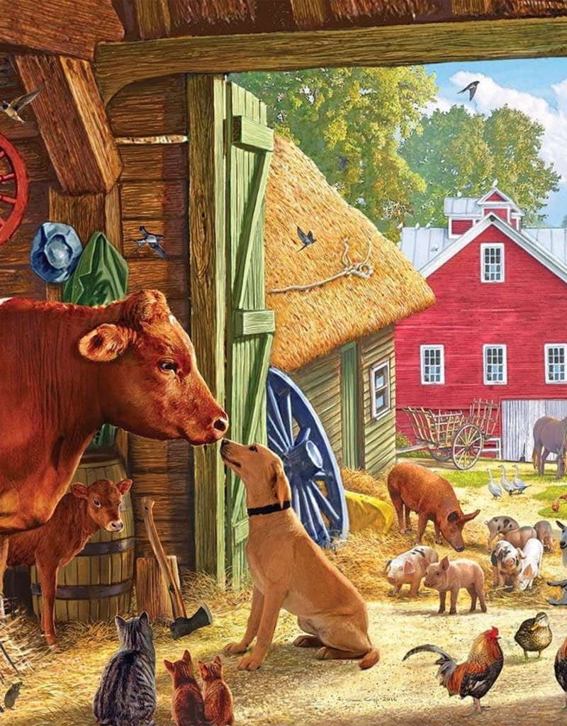White Mountain Barnyard Buddies 550 piece