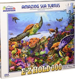White Mountain Amazing Sea Turtles 300 XL pieces