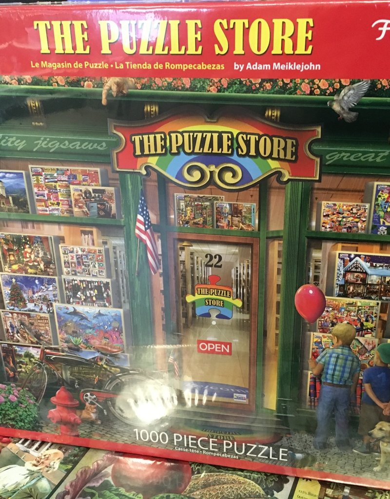 White Mountain The Puzzle Store