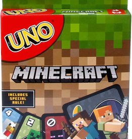 Mattel Games Uno Minecraft