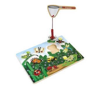 Bug Catching Magnetic Game