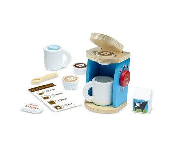 Brew & Serve Wooden Coffee Set