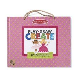 Melissa & Doug Princess Reusable Drawing and Magnetic Kit