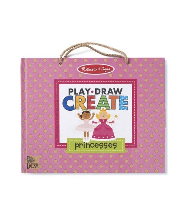 Princess Reusable Drawing and Magnetic Kit