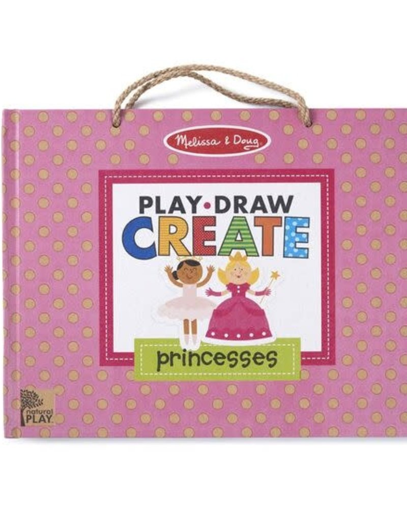 Melissa & Doug Princess Reusable Drawing and Magnetic Kit