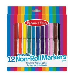 Melissa & Doug Non Roll  Markers Washable