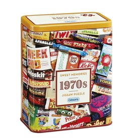 Gibson 1970's Sweet Memories Tin 500 pice puzzle