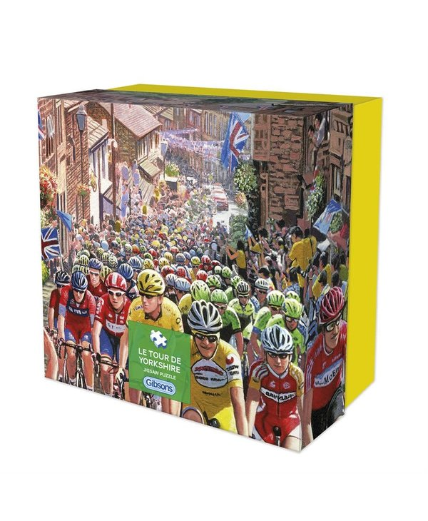 Le Tour de Yorshire Puzzle 500 pieces