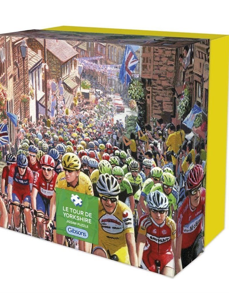 Gibson Le Tour de Yorshire Puzzle 500 pieces