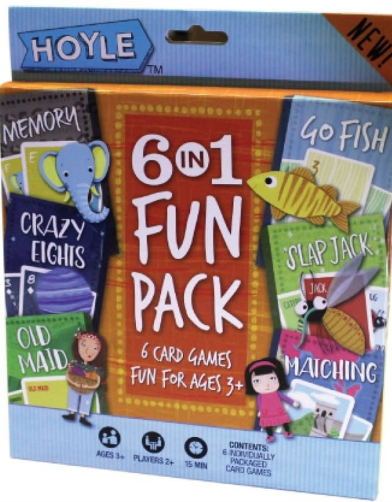 Hoyle 6 in 1 card games fun pack
