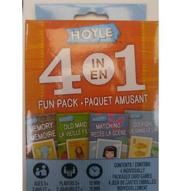 Hoyle 4 in 1 card games fun pack
