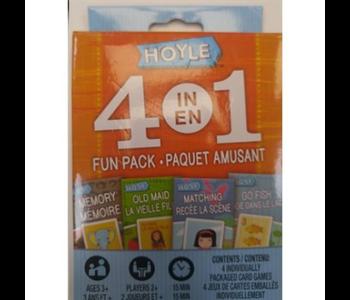 4 in 1 card games fun pack
