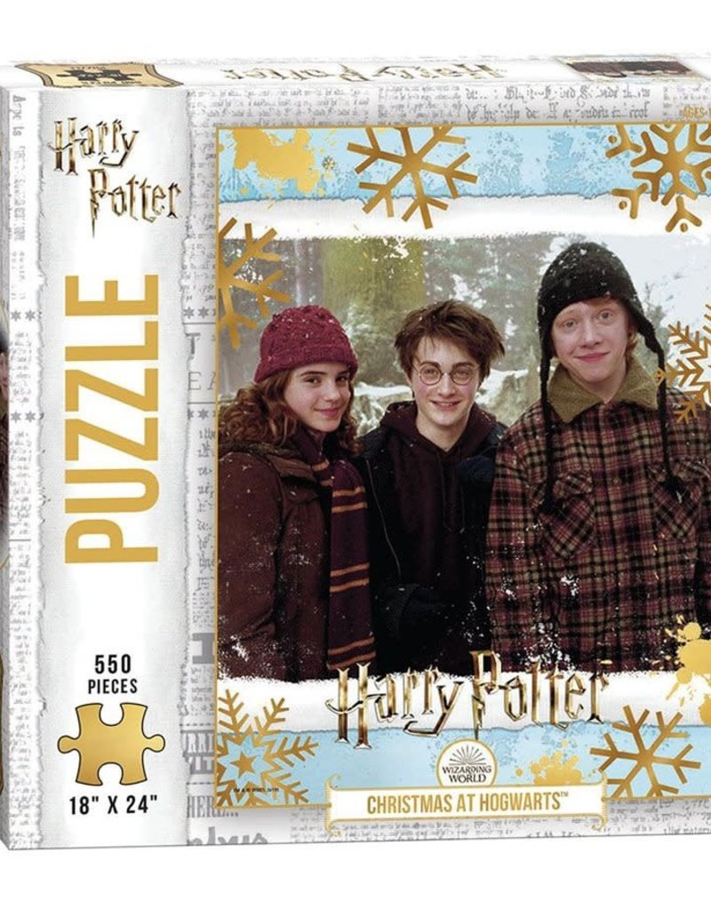 Harry Potter Christmas at Hogworts 550 piece puzzle