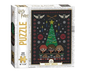 Harry Potter Weasley Sweater 550 piece puzzle