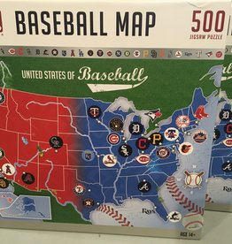 Masterpieces MLB Baseball Map Puzzle 500 pieces
