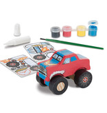 Melissa & Doug Monster Truck Decorate Your Own