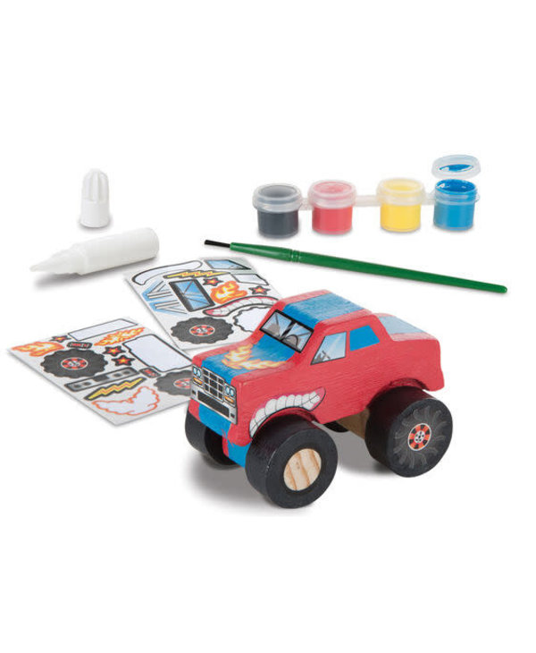 Monster Truck Decorate Your Own